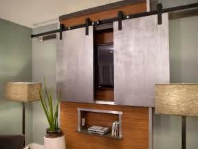 Flat Screen Tv Cabinet With Doors Photos Hgtv