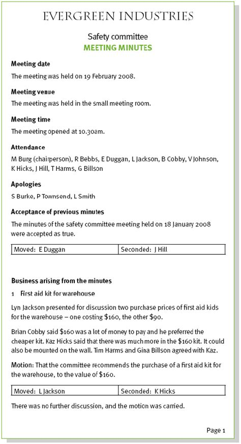 template of minutes of meetings exles meeting minutes sle new calendar template site