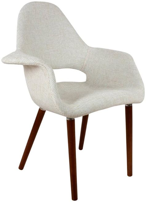 eames saarinen organic upholstered arm chair ebay