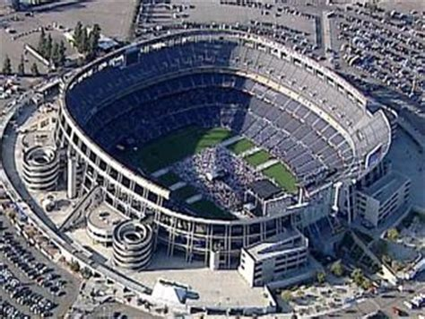 chargers stadium name qualcomm stadium to be temporarily renamed 10news