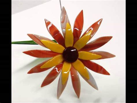 fiori vetro fiori di vetro vetri lavori vetro