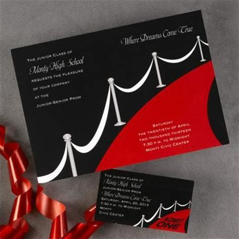 prom invite ideas 135 best invitation ideas images on pinterest invitation