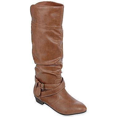 olsenboye boots olsenboye 174 cale slouch boots jcpenney clothes