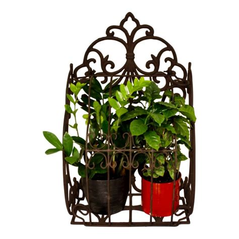 Iron Wall Planters by Cast Iron Wall Planter Vintage Design Quot Fleur De