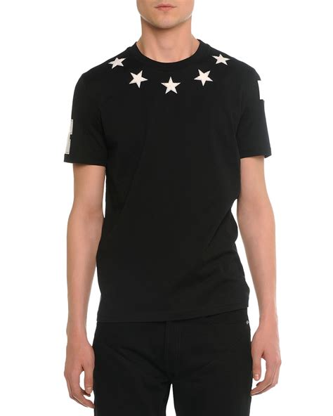 givenchy shirt givenchy print t shirt in black for lyst