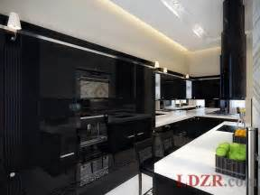 Black Kitchen Furniture by Contemporary Black Kitchen Cabinets Made From Wood Home