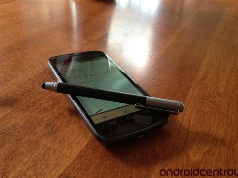 best bamboo stylus wacom bamboo stylus review android central