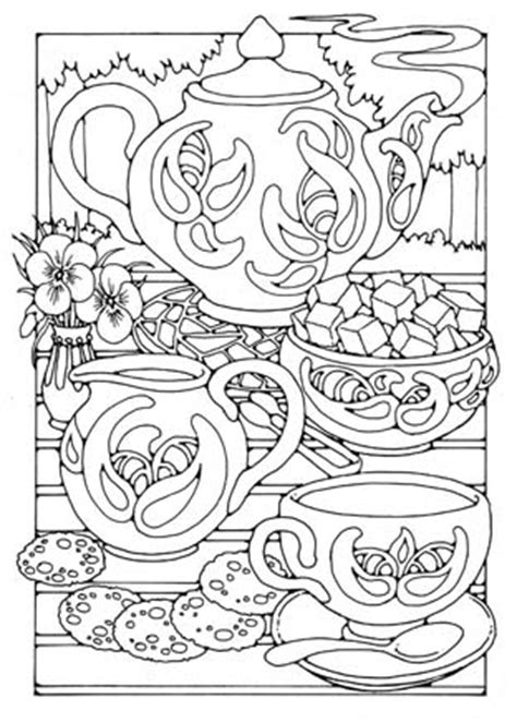 creative tea time coloring book coloring books pictures to colour in