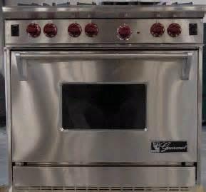 wolf appliance recalls gas ranges recall wolf gourmet residential gas range