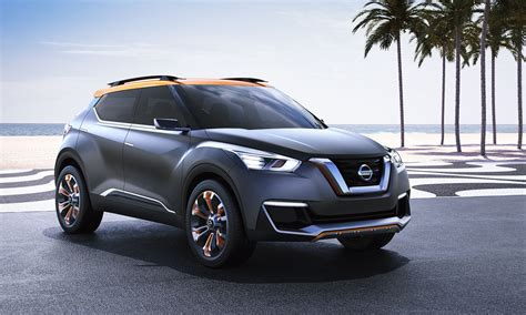 Nissan Small Suv by Nissan Kicks Concept Previews Potential Small Suv For