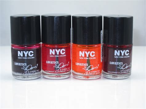 Lip Cheek Tint nyc new york color lovatics by demi lip cheek tint