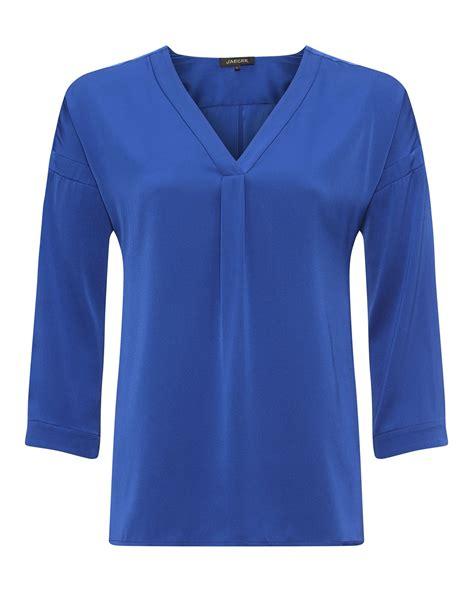 Blouse G Ci silk blouse jaeger blouse styles