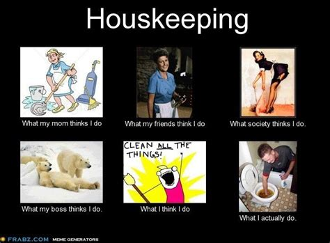 Housekeeping Meme - housekeeping and lol on pinterest