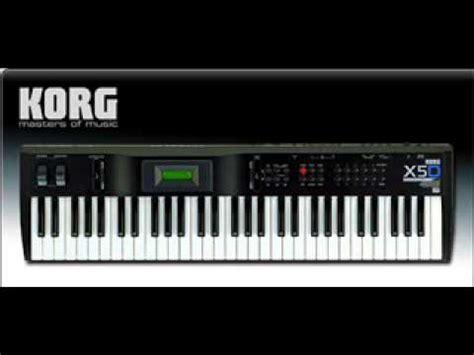 Keyboard Korg X5d Second korg x5d