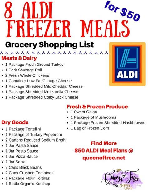 aldi printable shopping list the 25 best ideas about aldi meal plan on pinterest