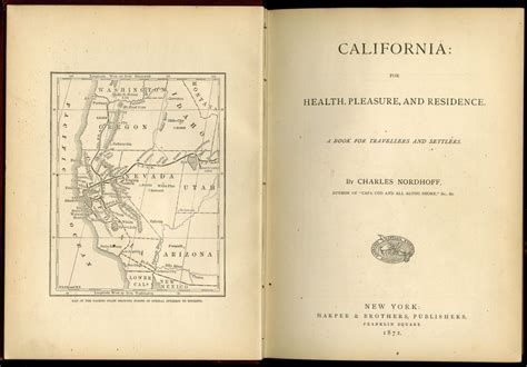 california for health pleasure and residence a book for travellers and settlers classic reprint books california for health pleasure and residence nordhoff