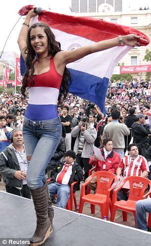 world cup 2010: model larissa riquelme promises home strip