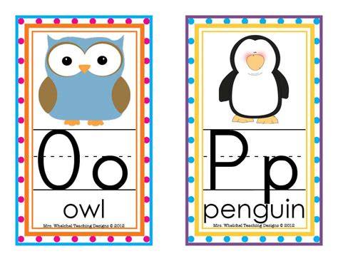 free printable alphabet letters for classroom display design blog