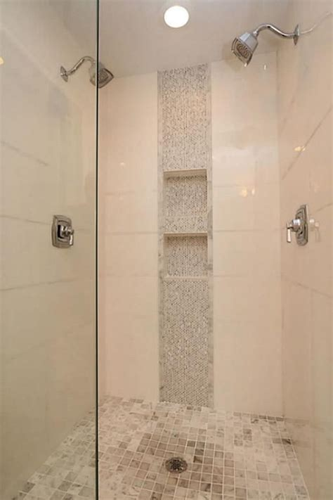 accent tile in shower vertical shower accent tile ideas search master