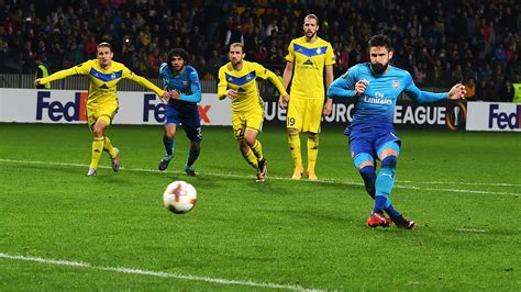 Arsenal Bate | bate borisov 2 4 arsenal match report arsenal com