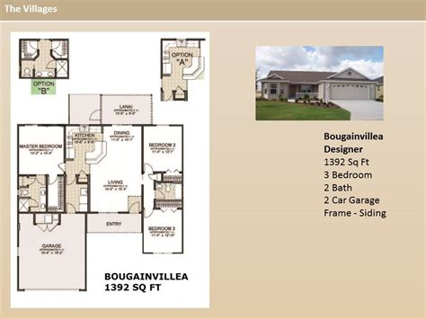 the villages homes designer homes bougainvillea model