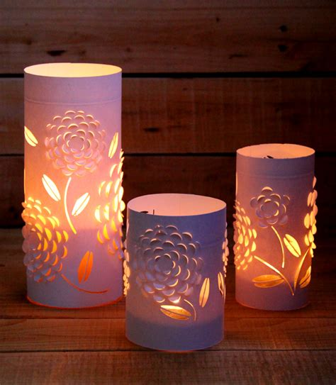 Paper Lanterns Craft - paperized crafts