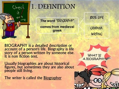 biography vs autobiography definition definition of biographical sketch