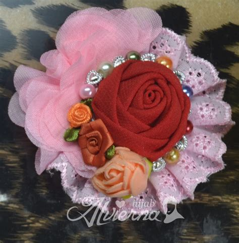 Promo Aksesoris Bros by Jual Aneka Bros Cantik Murah Bros Jilbab Handmade