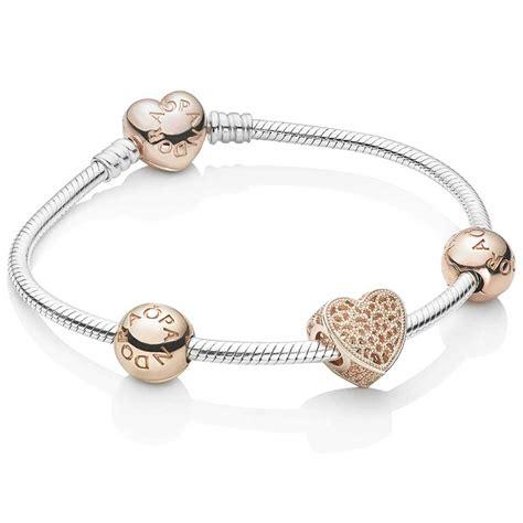 pandora bracelet pandora openwork hearts complete bracelet b800654
