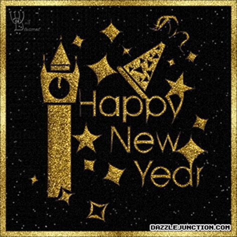 black and gold new years gold gif find on giphy