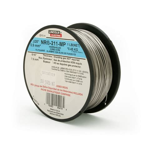 lincoln flux lincoln electric 0 9mm flux cored welding wire lowe s canada