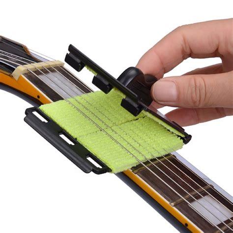 Pembersih Gitar Akustik pembersih senar gitar portable black jakartanotebook