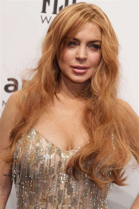 Lindsay Lohan Is by Lindsay Lohan 2013 Amfar New York Gala 13 Gotceleb