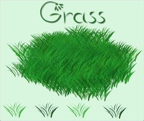 paint tool sai leaf brush gimp grass brush images