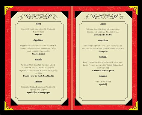 menu design with photos 10 tips for getting the most out of your menu serving