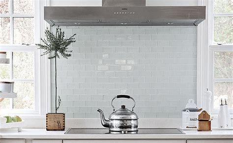white glass backsplash tiles   Home Decor