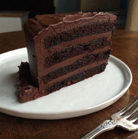 ideas  food triple chocolate cake