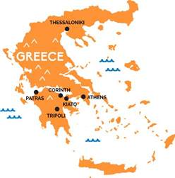 athens map map of greece railpass