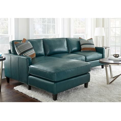 Turquoise Leather Sofa Turquoise Leather Sectional Sofa Sectionals Top Grain Leather Sectional With Ottoman
