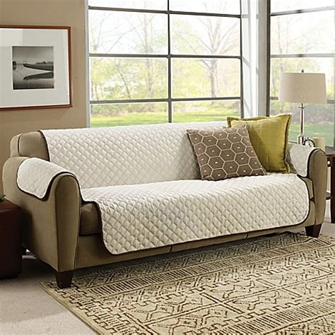 cover para sofa astv couchcoat furniture cover in crown cream bed bath