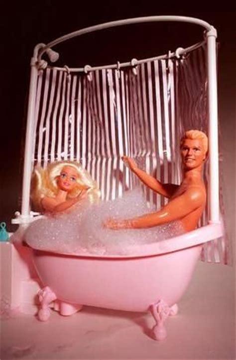 barbie and ken in bathroom sexy barbie ken bubble bath bad barbie pinterest