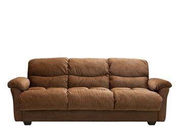 Warren Sofa Bed Warren Microfiber Klik Klak Sleeper W Storage