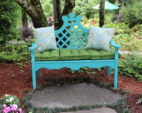 bench in garden ideas for garden benches hgtv