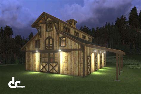 horse barns  living quarters horse barn designs