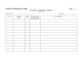 Truckers Log Book Template by Truck Driver Log Book Exles