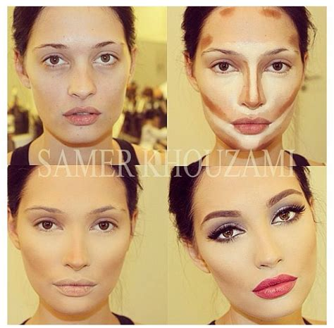 tutorial makeup contouring face contouring tutorial make up make up ideas ღ