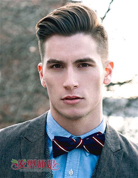 男生国字脸适合什么发型 国字脸短发发型图片(3)_发型师姐