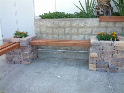 brick bench diy nice collection of bricks garden ideas