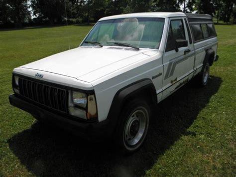 1988 jeep comanche white purchase used 1988 jeep comanche base standard cab