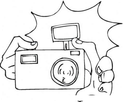 imagenes para pintar flash dibujo de camara con flash para pintar y colorear dibujos
